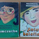 zdjęcie przedstawiające okładki książek M. Musierowicz Kłamczucha i Kwiat kalafiora